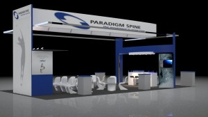 3D Virtual Booth Rendering