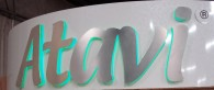 Atavi Backlit Lettering Sign