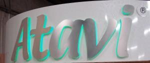 Atavi Backlit Lettering Sign