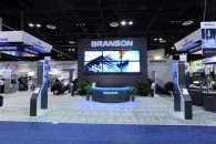 50' x 90' Double Story Video Wall Display